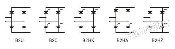 全桥功率放大电路图