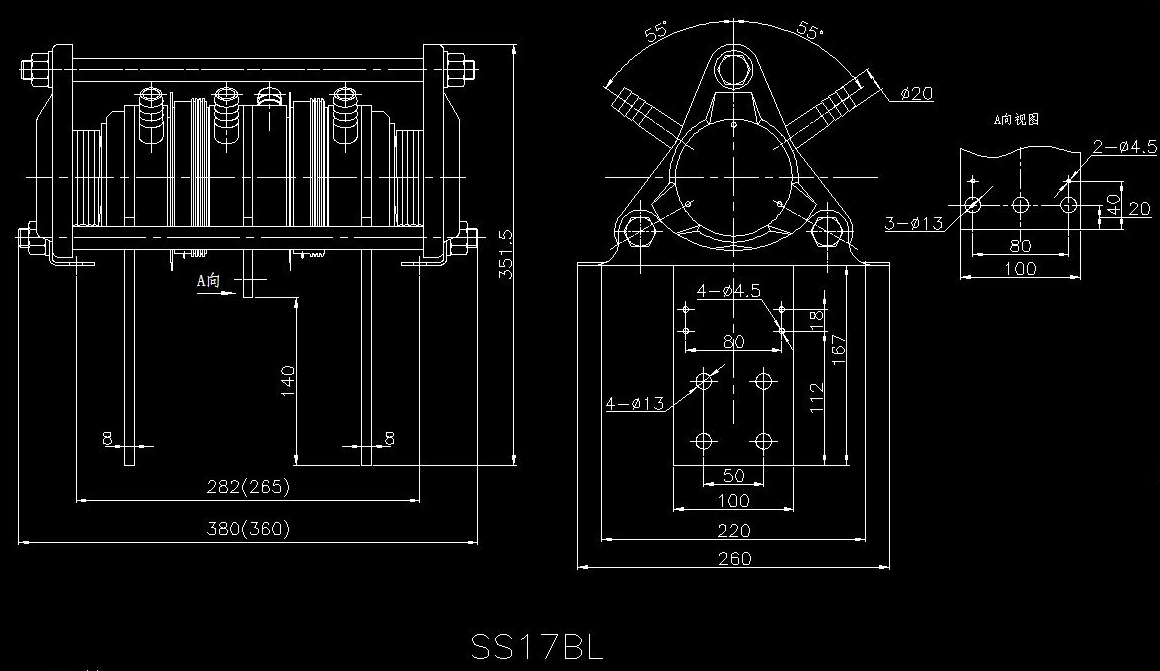 散热器 - 散热器 - 可控硅模块-晶闸管模块-台基