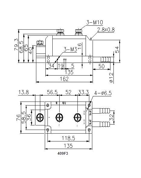 mfc普通晶闸管/整流管混合模块